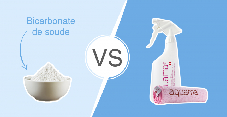 Battle n°2 : aquama vs le bicarbonate de soude