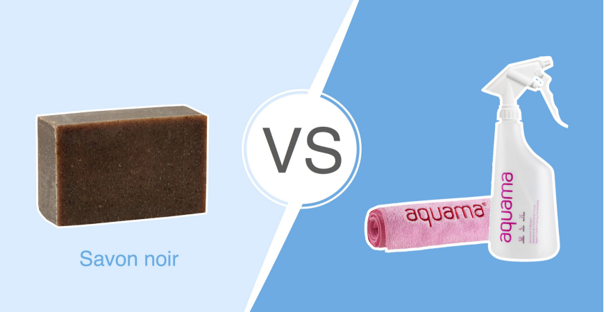 Battle n° 3 : aquama®  vs. le savon noir
